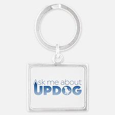 Updog? Landscape Keychain