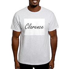Clarence Artistic Name Design T-Shirt