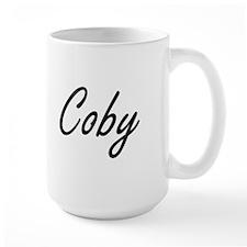 Coby Artistic Name Design Mugs