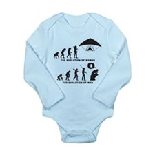 Hang Gliding Long Sleeve Infant Bodysuit