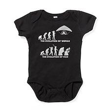 Hang Gliding Baby Bodysuit