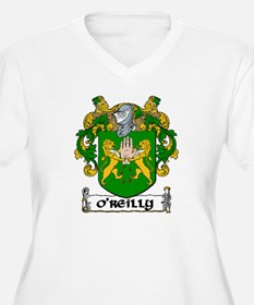 O'Reilly Coat of Arms Plus Size V-Neck Tee