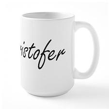 Cristofer Artistic Name Design Mugs