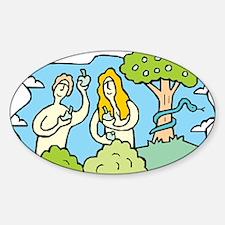 Adam & Eve Decal