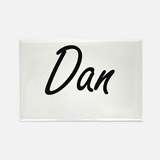 Dan Artistic Name Design Magnets