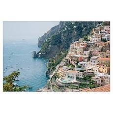 Italy - Amalfi Coastline  Poster