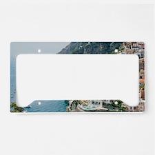 Italy - Amalfi Coastline  License Plate Holder