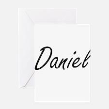 Daniel Artistic Name Design Greeting Cards