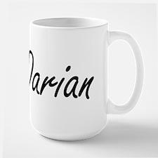 Darian Artistic Name Design Mugs