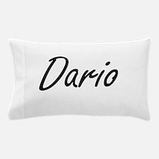 Dario Artistic Name Design Pillow Case
