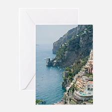 Amalfi Coastline Greeting Card