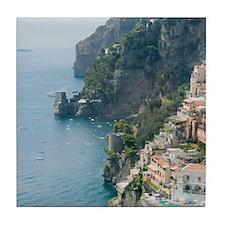 Amalfi Coastline Tile Coaster