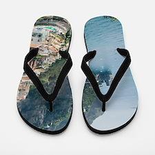 Amalfi Coastline Flip Flops
