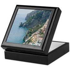 Amalfi Coastline Keepsake Box