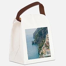 Amalfi Coastline Canvas Lunch Bag