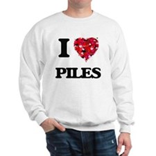 I Love Piles Sweatshirt