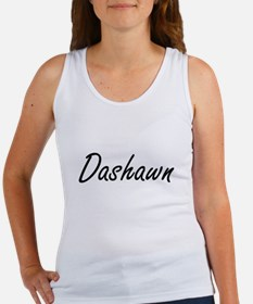 Dashawn Artistic Name Design Tank Top
