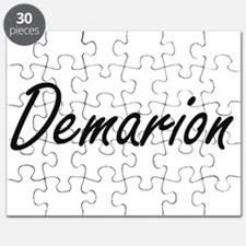 Demarion Artistic Name Design Puzzle