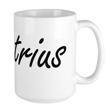 Demetrius Artistic Name Design Mugs