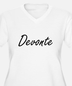Devonte Artistic Name Design Plus Size T-Shirt