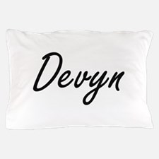 Devyn Artistic Name Design Pillow Case