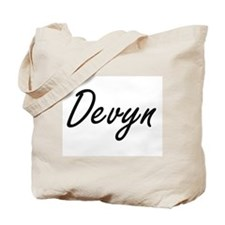 Devyn Artistic Name Design Tote Bag