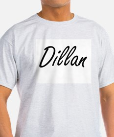 Dillan Artistic Name Design T-Shirt