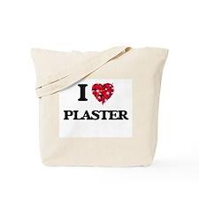 I Love Plaster Tote Bag