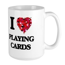I Love Playing Cards Mugs