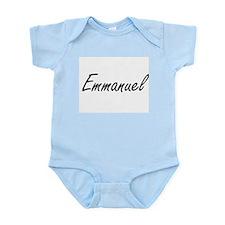 Emmanuel Artistic Name Design Body Suit