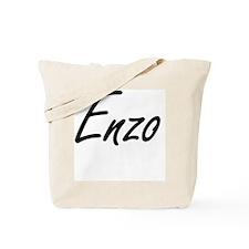 Enzo Artistic Name Design Tote Bag