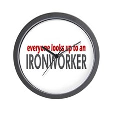 Ironworker Wall Clock