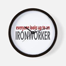 Ironworker Wall Clock