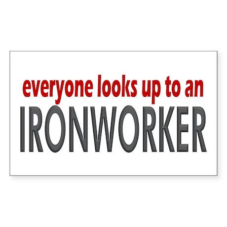 Ironworker Rectangle Sticker