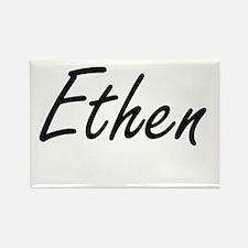 Ethen Artistic Name Design Magnets
