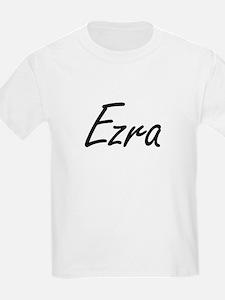 Ezra Artistic Name Design T-Shirt