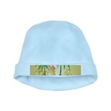 Funny budgerigars baby hat