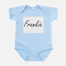 Frankie Artistic Name Design Body Suit