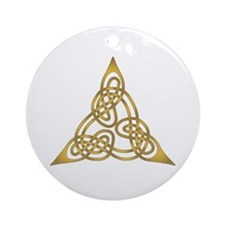 Celtic Knot 64 Ornament (Round)