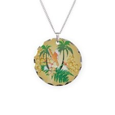 Funny budgerigars Necklace