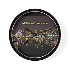 Personalisable Melbourne Australia Vict Wall Clock