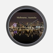Personalisable Melbourne Australia Vict Wall Clock