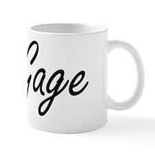 Gage Artistic Name Design Mug