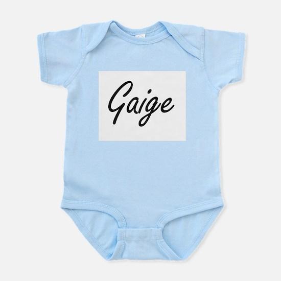 Gaige Artistic Name Design Body Suit