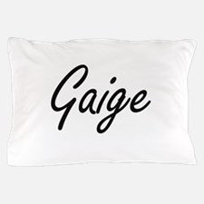 Gaige Artistic Name Design Pillow Case