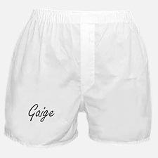 Gaige Artistic Name Design Boxer Shorts