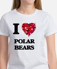 I Love Polar Bears T-Shirt