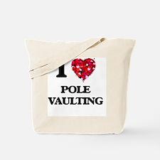 I Love Pole Vaulting Tote Bag