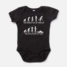 Field Hockey Baby Bodysuit