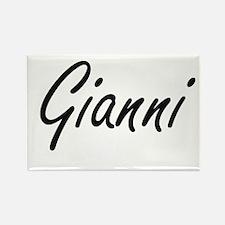 Gianni Artistic Name Design Magnets
